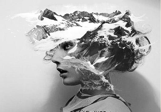 mountain head